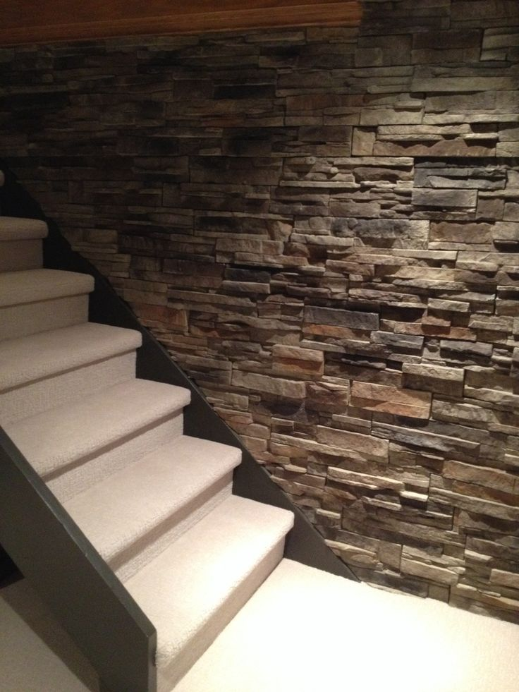 37 best cinder block wall cover images on pinterest for Concrete block basement