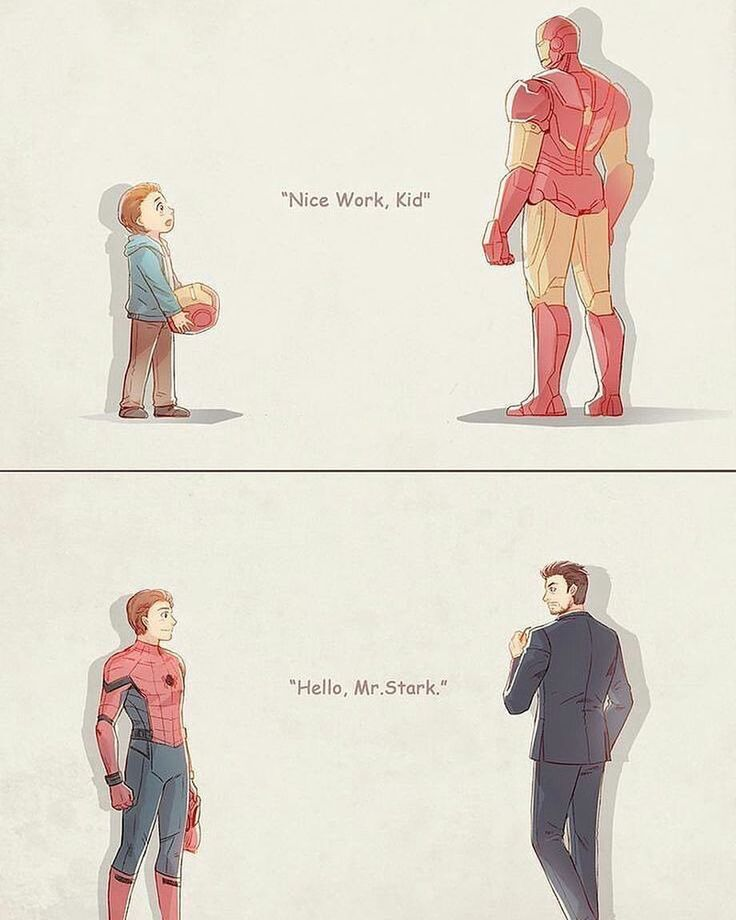 Pin by hero central on marvel cinematic universe marvel - Spiderman and ironman wallpaper ...