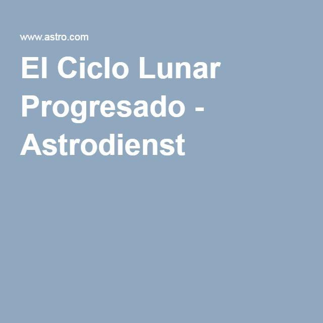 El Ciclo Lunar Progresado - Astrodienst