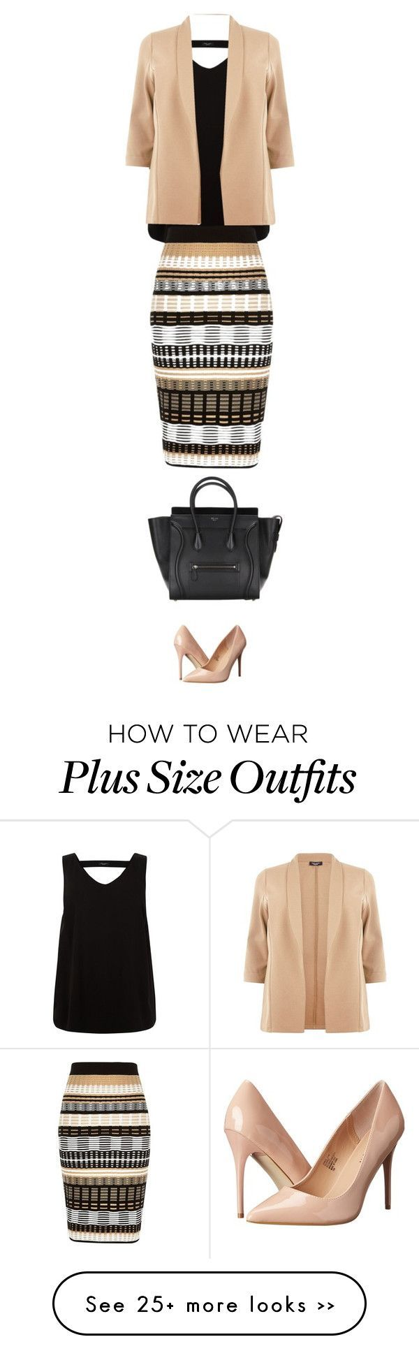 to work by ecem1 on Polyvore featuring River Island and Madden Girl