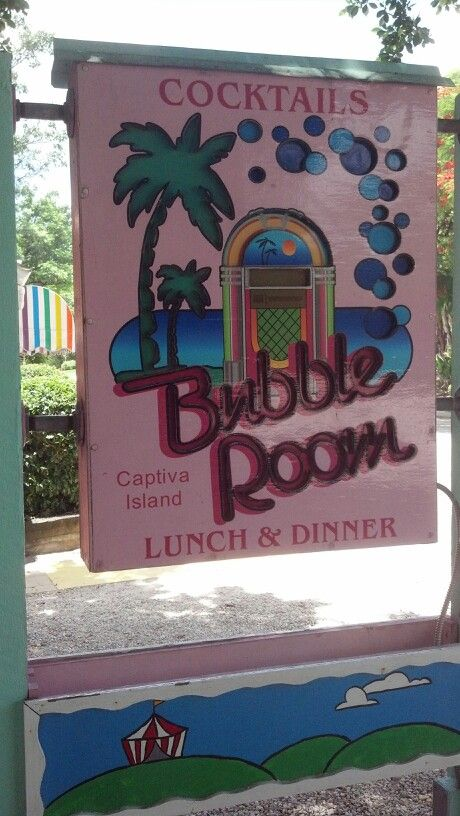 I Worked At The Bubble Room Captiva Island Best 5 Years Ever Places Lived And Visited Pinterest
