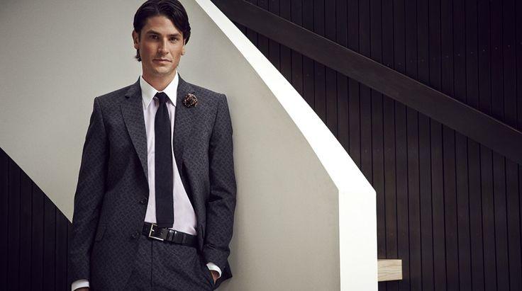 Lewis jacket & Astor trouser BO73/89, White shirt SZ33/49, Monk belt BLT07-99 https://shop.rembrandt.co.nz/