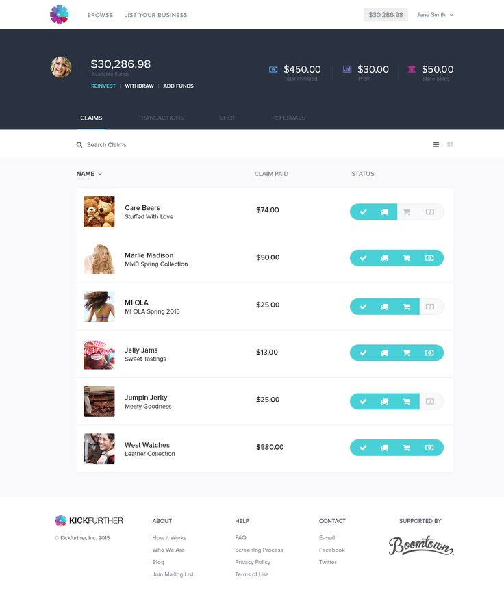 120 best Vac Web App UI images on Pinterest Interface design - invoice web app