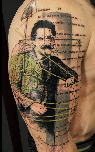 Abstract Tattoo by Xoil Tattoo   Tattoo No. 10520