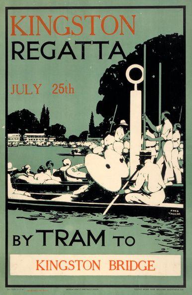 Kingston Regatta Poster by Fred Taylor