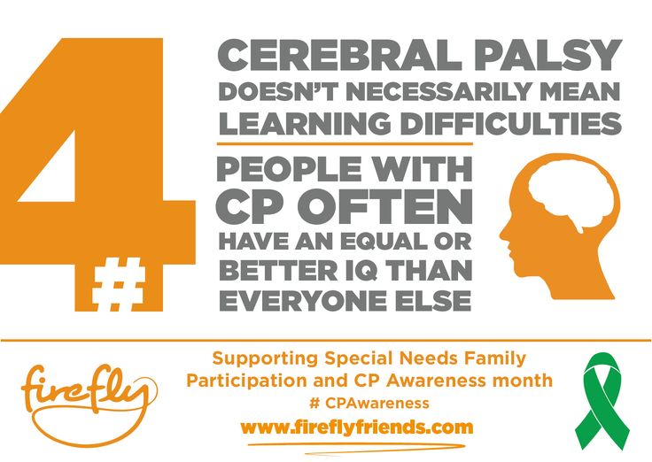 Cerebral Palsy Awareness Month - Week 1 | Firefly