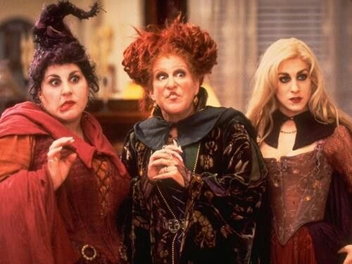 It wouldn't be Halloween without Hocus Pocus!