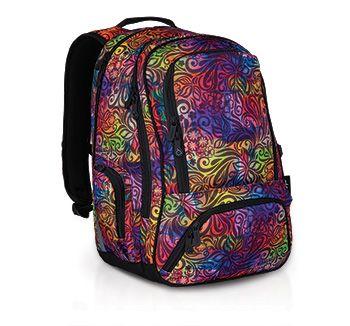 Oryginalny kolorowy plecak młodzieżowy z kolekcji StreeHIT - HIT 823 I - Violet