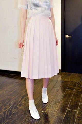 maxi pleat skirt from Kakuu Basic. Saved to Kakuu Basic Skirts. Shop more products from Kakuu Basic on Wanelo.