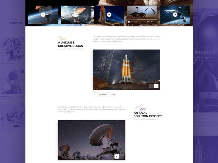 PLEIONE - Creative One Page Landing by Yaroslav Zaytsev  🐇