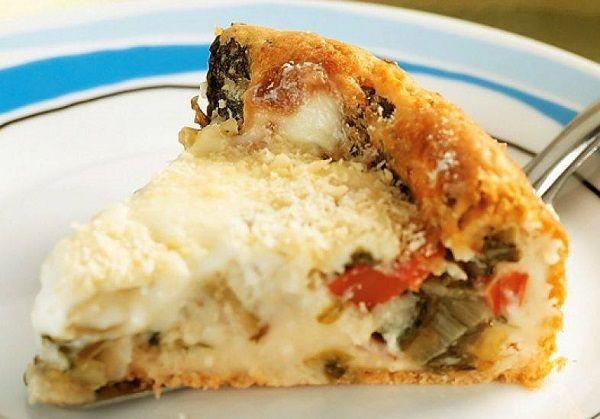 A Torta de Escarola com Requeijão é cremosa, deliciosa e perfeita para o lanche da sua família. Experimente! Veja Também:Torta-Pizza Rápida de Sardinha Ve