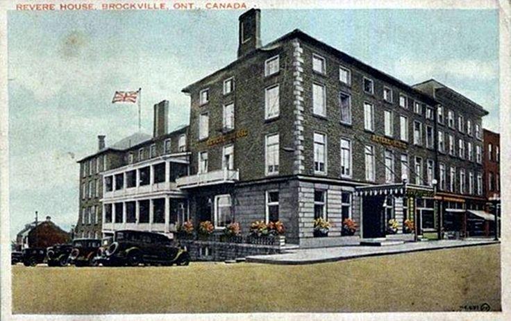 BROCKVILLE Ontario CANADA Revere House Hotel Inn  1920's