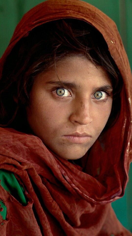Afghan Girl The Most Famous Picture In National Geo