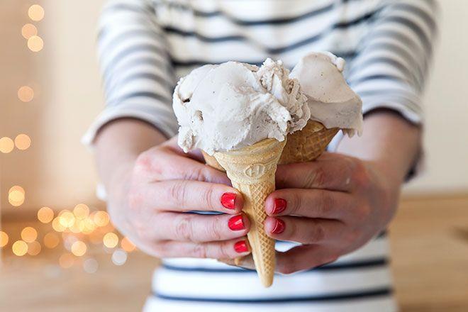 Gluhwein ice cream