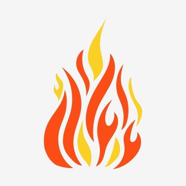 Fire Vector Design Clipart Flame Clipart Fire Vector Png And Vector With Transparent Background For Free Download Fire Vector Vector Design Clip Art
