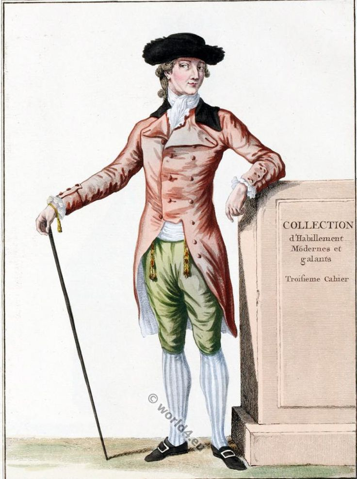 Frac L 39 Anglaise An Example Of 18th Century Costume In England Not French Style Men 39 S