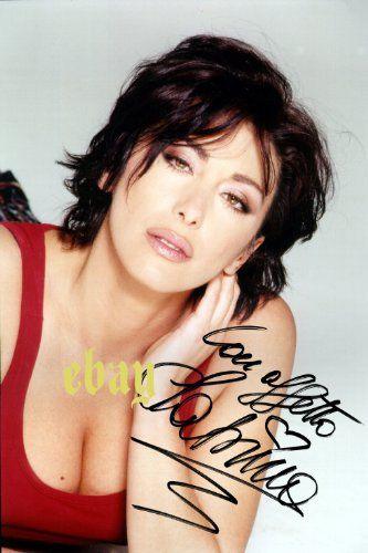 Sabrina Salerno Sexy Nude Photo Autograph Reprint Print Autografo Foto Autogramm…