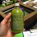 Enjoying a green juice at the Be You & Thrive in Business and Life workshop  www.relauncher.com.au