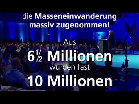 Erschreckend: Wie sich die Zahl der Ausländer in Deutschland unter Merkel erhöht hat REFLEXDENKEN ÜBERWINDEN - https://www.youtube.com/watch?v=xy0J2CphYQc Zensurfreier Kommentarbereich hier: http://wahr.tv/21  Ich bin nicht Nichtwähler ich behalte meine Stimme um sie zu erheben wenn diese Verbrecher uns bestehlen und Schaden zufügen. Unsere Regierung ist komplett in amerikanischer Hand und hat hier nichts zu melden solange wir keinen Friedensvertrag und eine eigene Verfassung haben. Falls du…