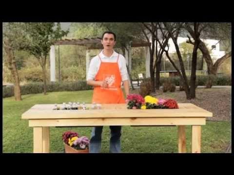 Cómo hacer una mesa conservadora de bebidas para el jardín - Notas - La Bioguía