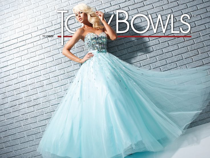 Tony Bowls Le Gala  »  Style No. 113509  »  Tony Bowls Prom available at Binns of Williamsburg