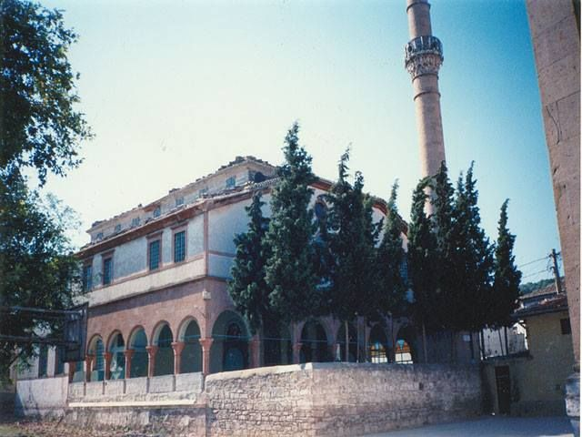 The church of Kato Panagia at Ayvali. It has now been converted into a mosque.