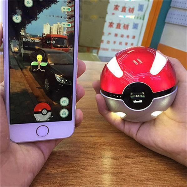10000mah pokeball power bank Recondition rechargeable