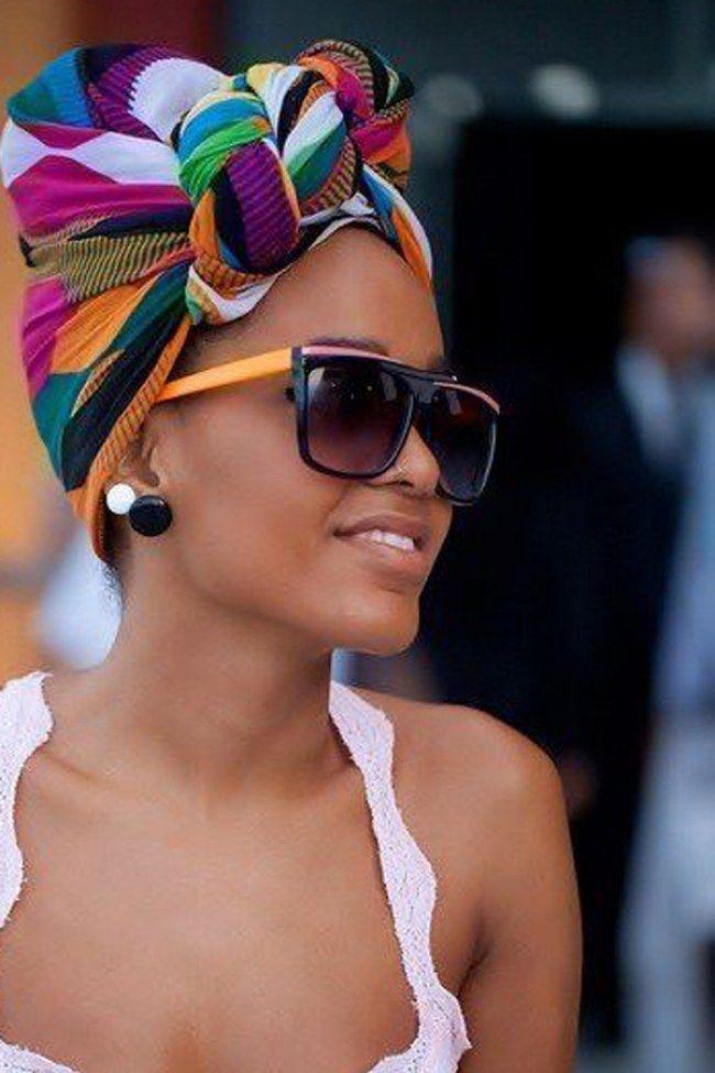 25 jeitos de usar lenço na cabeça. Inspire-se