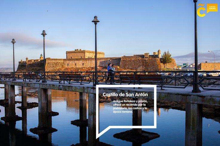 #FelizMartes #ACoruña Hoy queremos invitarte a descubrir la historia y los secretos del Castillo de San Antón bit.ly/2if4kZf #visitacoruña