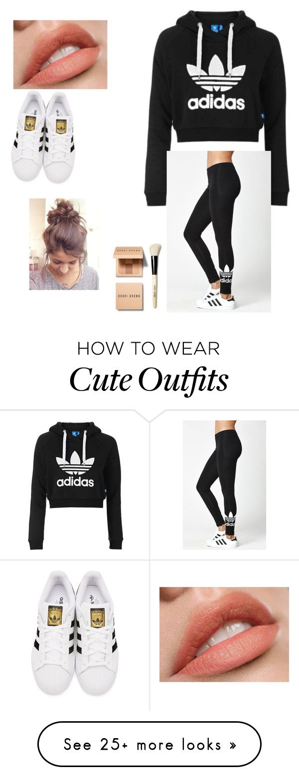 """""""Brett's outfit"""" by priscilla-ramiez on Polyvore featuring Topshop, adidas…"""