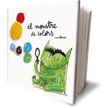 Llibre de Anna Llenas que ens presenta un monstre per treballar les emocions.