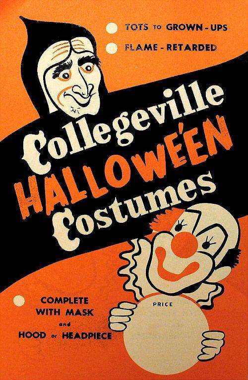 Collegeville Halloween Costumes