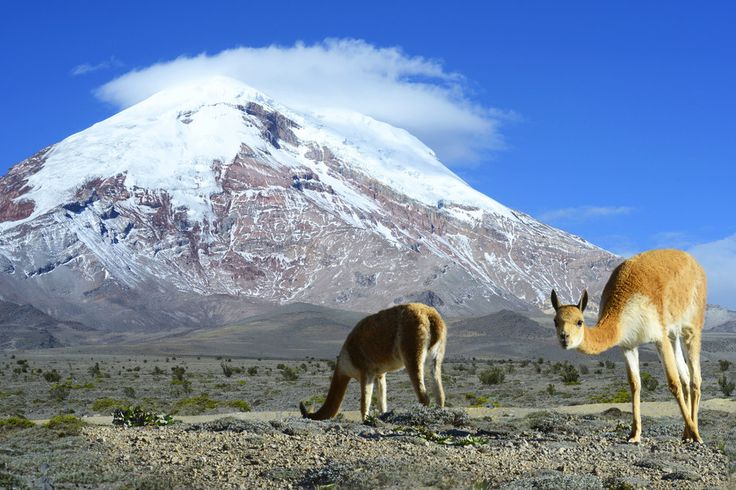 The farthest point from the Earth's center: Chimborazo, Ecuador. | 22 Of The Most Extreme Places On Earth