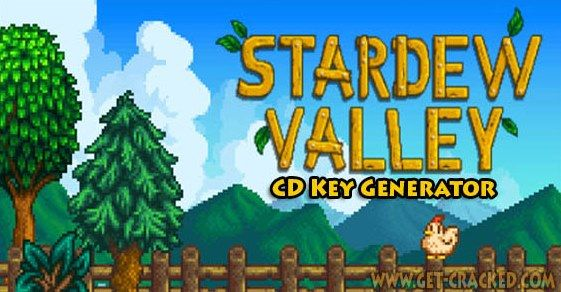 Stardew Valley CD Key Generator 2016 - http://skidrowgameplay.com/stardew-valley-cd-key-generator-2016/
