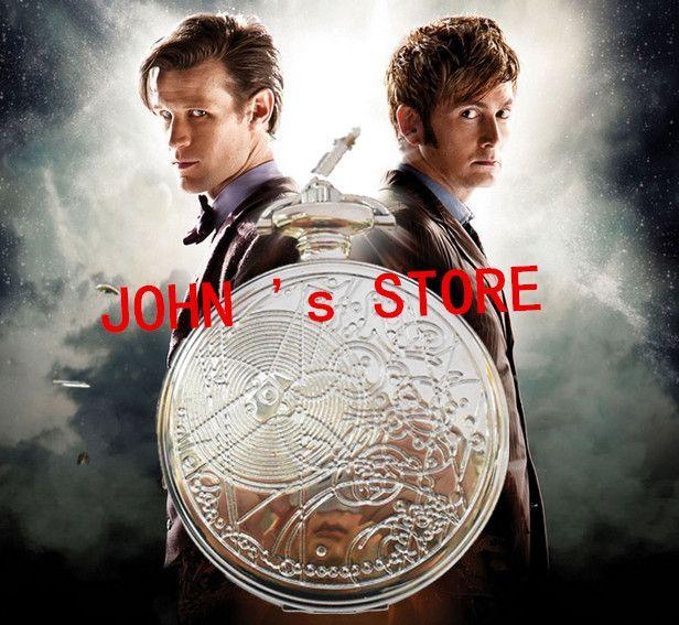 Бесплатная доставка 1 шт. тардис ожерелье карманные часы ожерелье Gallifreyan ожерелье Dia55mm XYWJ01