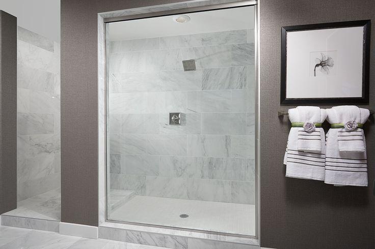 Modern bathrooms make for better mornings! | Daley model home master bath | Covington, WA | Richmond American Homes