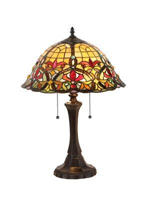 "CHLOE Lighting CH33389VR16-TL2 Table Lamp ""BERTRAM"""