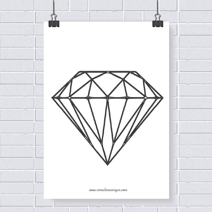 Pôster grátis: diamante