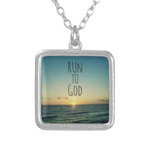143 best inspirational jewelry with quotes affirmations images on inspirational christian quote run to god pendants mozeypictures Choice Image