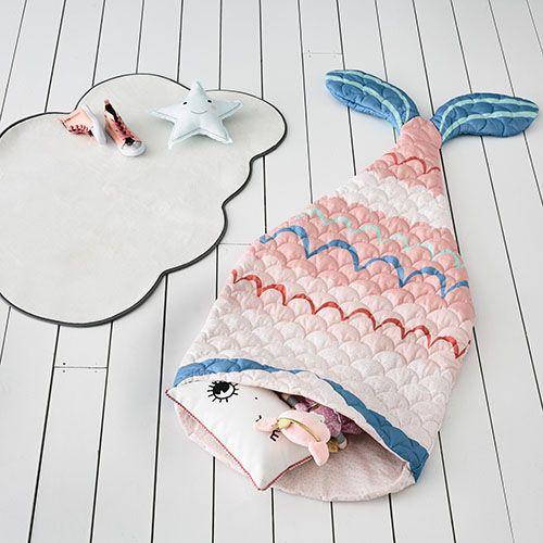 Pink Mermaid Tail Sleeping Bag