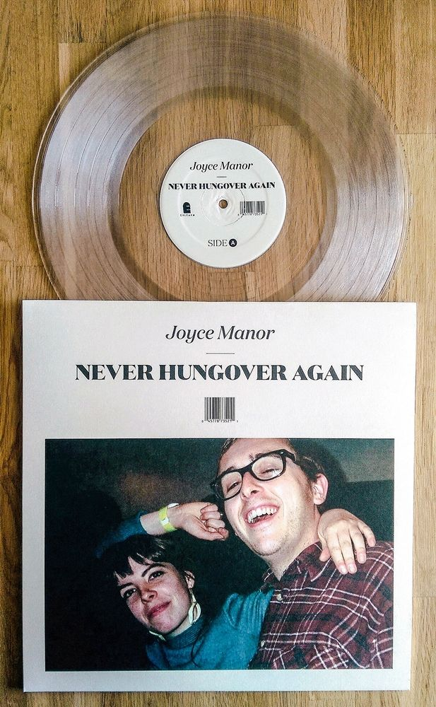 """guldse: """" Joyce Manor - Never Hungover Again /300 clear vinyl 