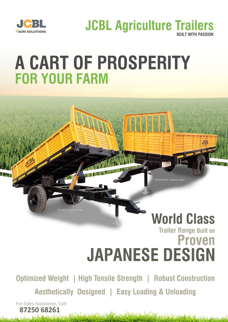 JCBL, one of the best #agricultural equipment manufacturers, brings a cart of prosperity for your #farm. Read more