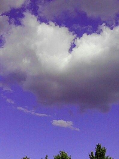 Nubes de algodon de azucar