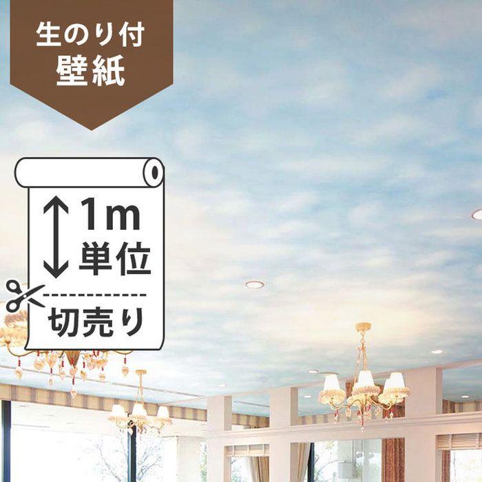 1m 594税込 空模様の壁紙 天井にオススメ 壁紙クロス サンゲツ