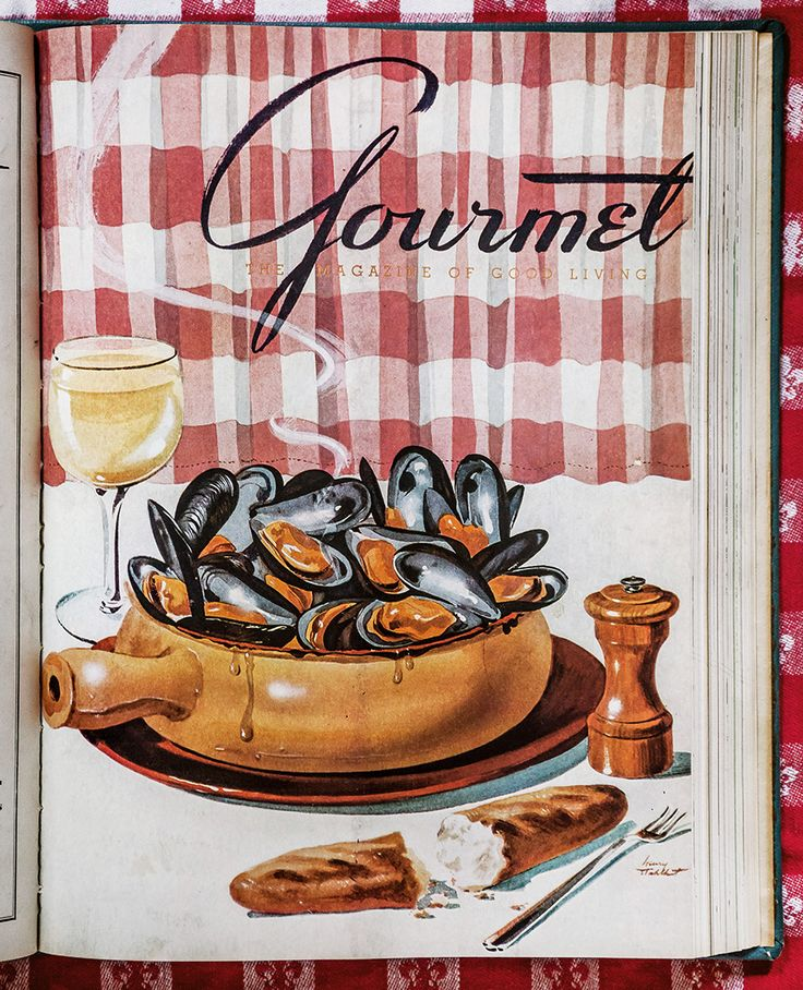 Gourmet 1942 September | gourmet magazine covers forties ...