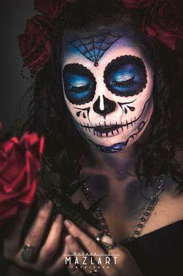 Tutoriel sugar skull makeup (maquillage)Beauté Piratée – Blog beauté