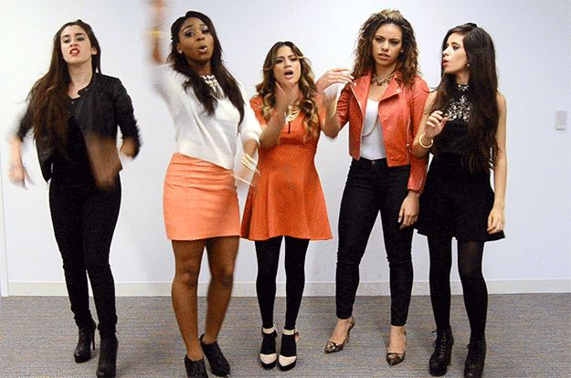 You feel like you got gypped with the chicken at Chipotle: | All The Fifth Harmony Reaction GIFS You'll Ever Need