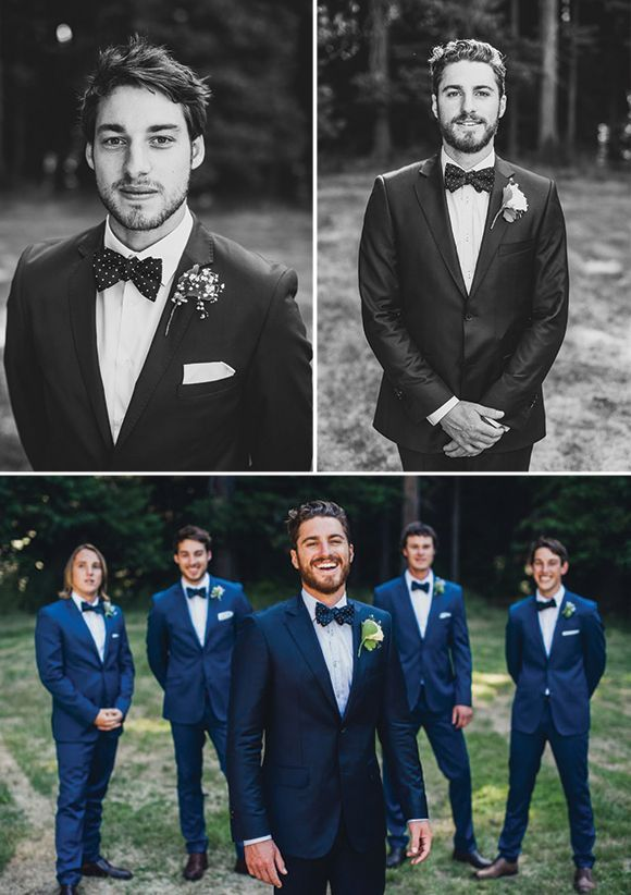 Snippets, Whispers and Ribbons – 5 Dapper Looks for Autumn Grooms