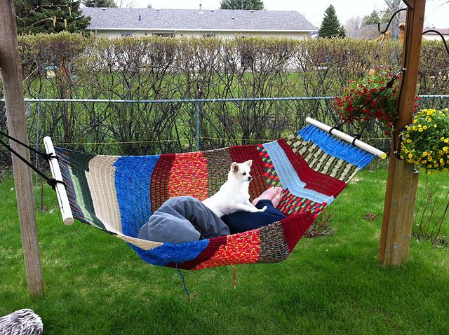 Ravelry: Easy Crochet Hammock pattern by Roxanna June - so want one of these