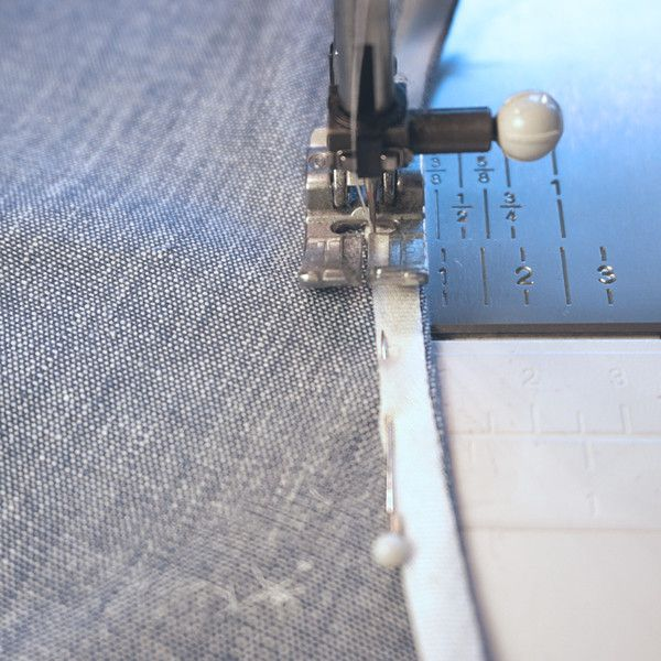 how to cut and sew bias binding